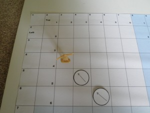 The player keeps moving, the markers keep tracking.