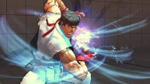 Ryu winds up for a Metsu Hadouken in Street Fighter 4