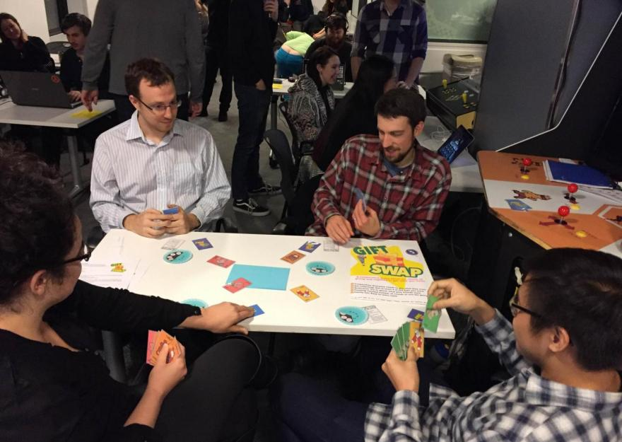 In play at the 2016 Global Game Jam