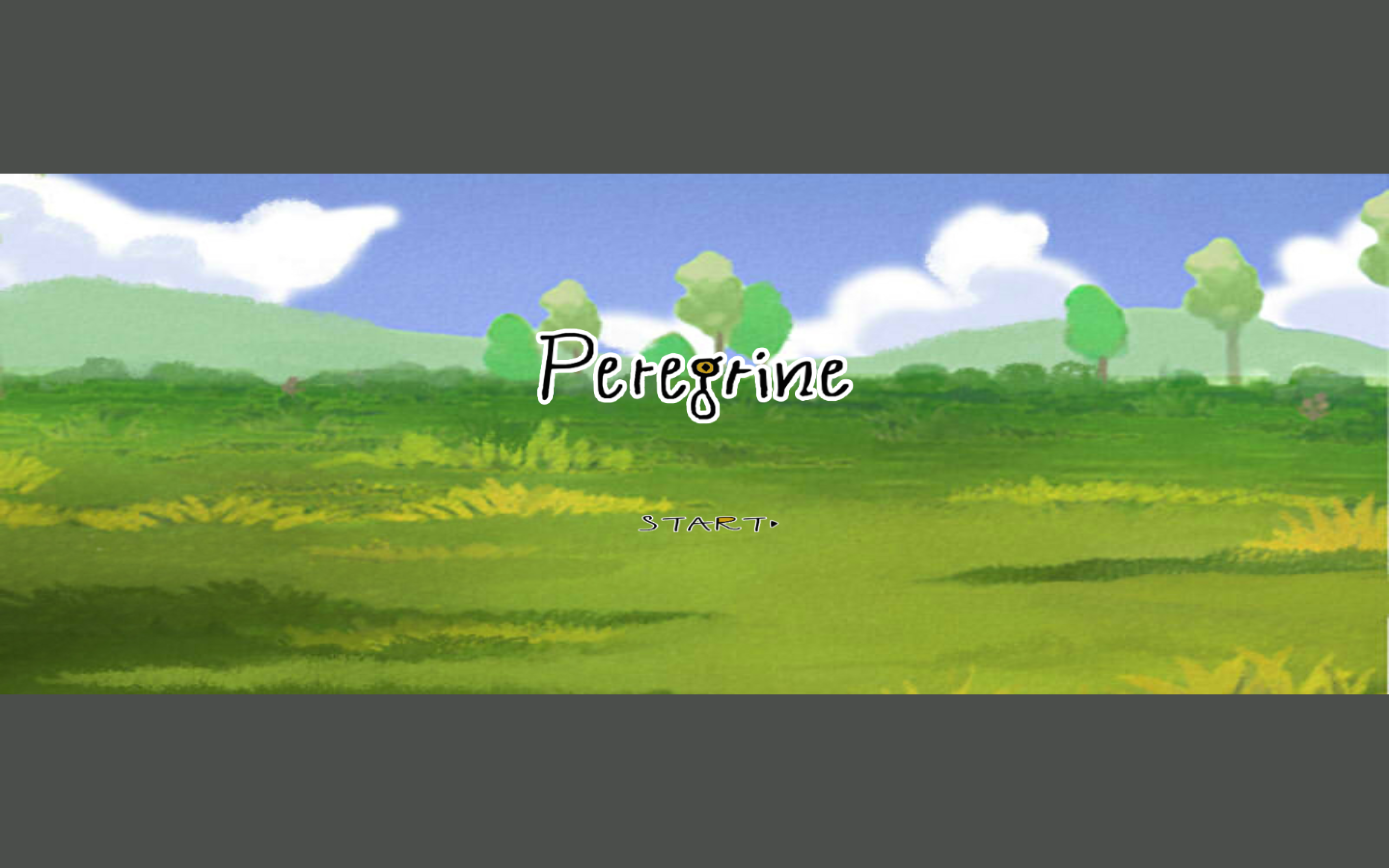Peregrine title screen
